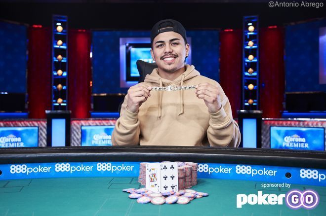 Kainalu McCue-Unciano Wins the WSOP Monster Stack for $1,008,850