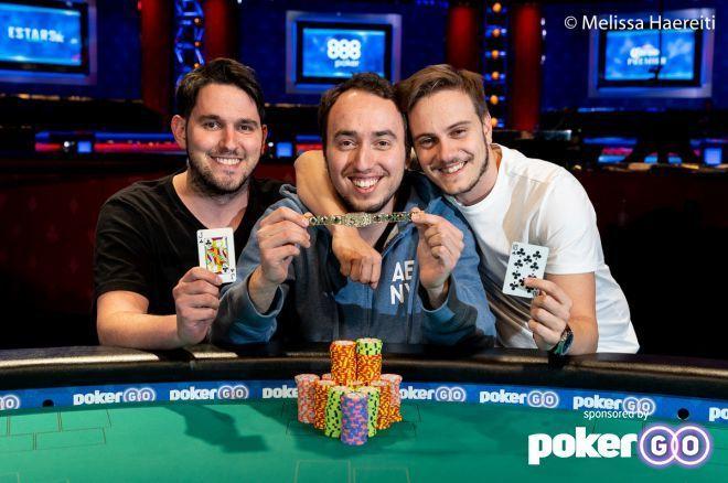 Israel's Team Geiger Wins WSOP $1,000 Tag Team Event