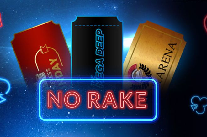 You Won't Have to Pay Rake in These Four Tournaments on Sunday at 888poker