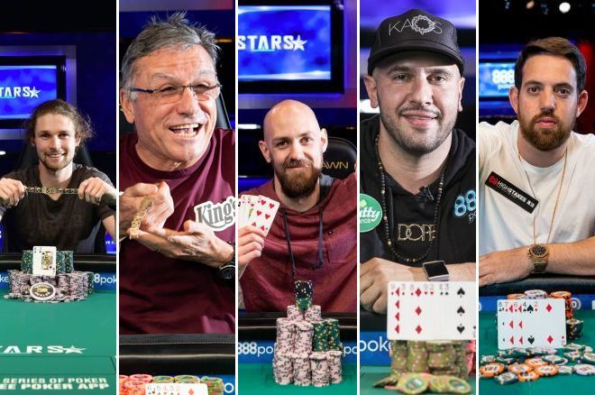 All the World Series of Poker Bracelet Winners So Far