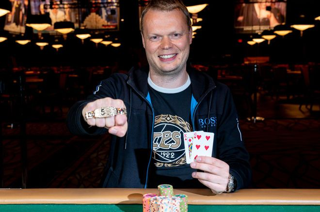 Finnish Poker Hero Juha Helppi Claims 1st Bracelet and $306,622 in $10,000 Limit Hold'em Championship