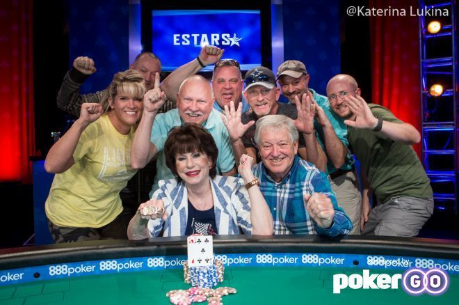 Susan Faber won the first open bracelet for the ladies in the 2019 WSOP.
