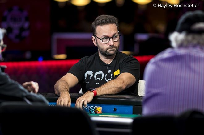 Daniel Negreanu made a tough fold look easy during the Main Event.