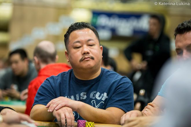 Kou Vang picked off Phil Hellmuth's bluff in the Main Event.