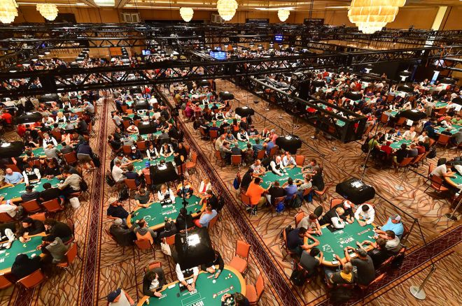 The 2019 WSOP Main Event is the second largest in history.