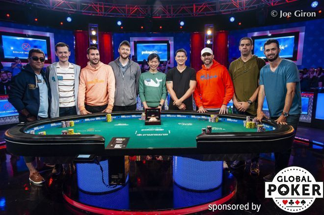 Ensan Leads Race for $10 Million at Main Event Final Table, Industry Vet Gates in Second