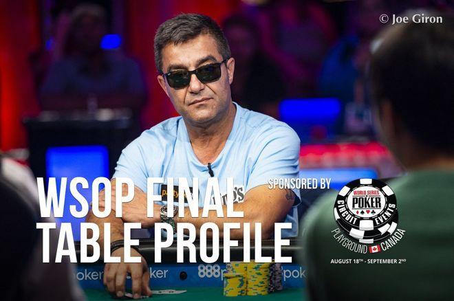 2019 WSOP Main Event Final Table Profile: Hossein Ensan
