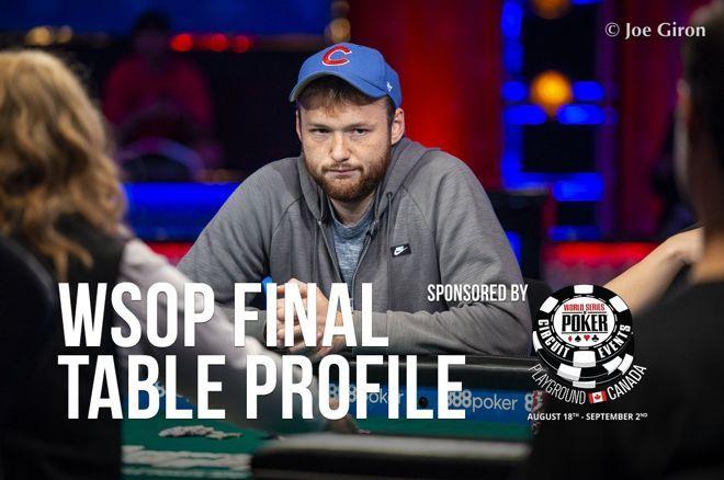 2019 WSOP Main Event Final Table Profile: Kevin Maahs