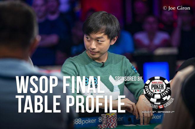 2019 WSOP Main Event Final Table Profile: Timothy Su
