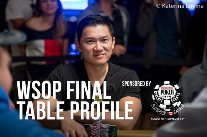2019 WSOP Main Event Final Table Profile: Zhen Cai