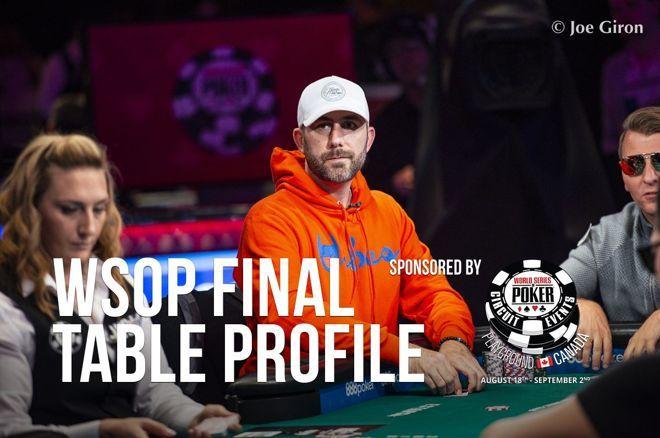 2019 WSOP Main Event Final Table Profile: Garry Gates