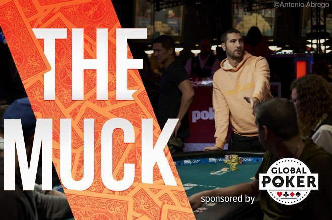 Dario Sammartino had a frustrating moment late on Day 7 of the WSOP Main Event.
