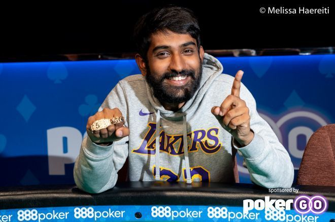 Abhinav Iyer Takes Down The Closer to Win His First Bracelet and $565,346