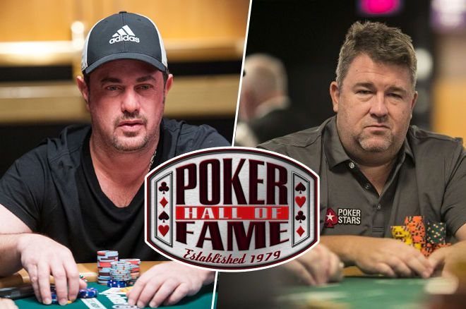 David Oppenheim and Chris Moneymaker Inducted into the Poker Hall of Fame