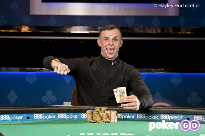 Carl Shaw Defeats Tony Dunst to Claim First Bracelet & $606,562, Hellmuth 6th
