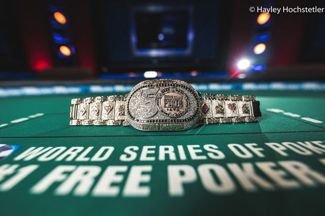 2019 WSOP Main Event bracelet