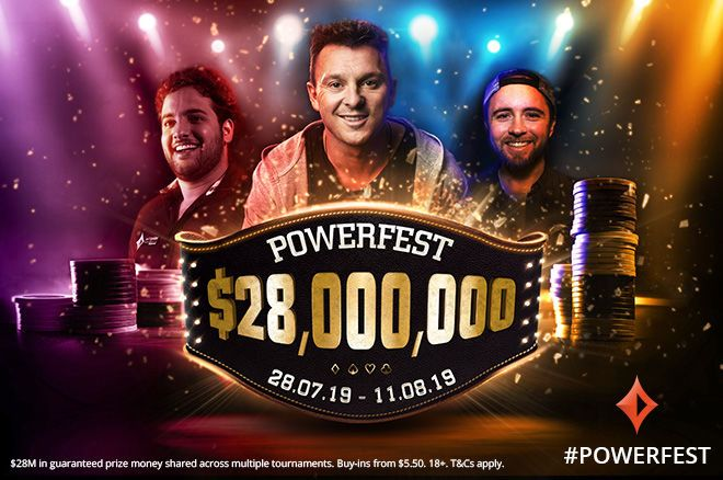 $28 Million Gtd partypoker POWERFEST Starts Jul. 28