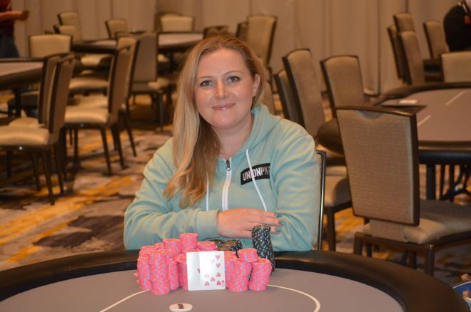 Laura Moore Wins Massive $65K Prize in Potomac Poker Open's $370 Opening Event