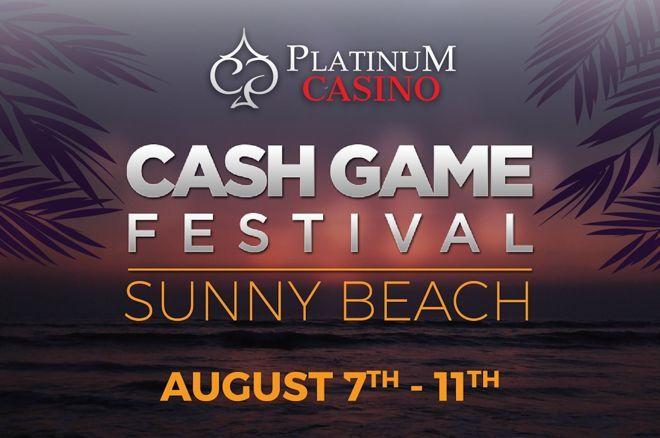 CashGameFestival 2019 Platinum Casino