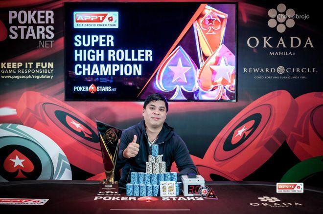 Chaofei Wang Wins APPT Manila Super High Roller For $137,020