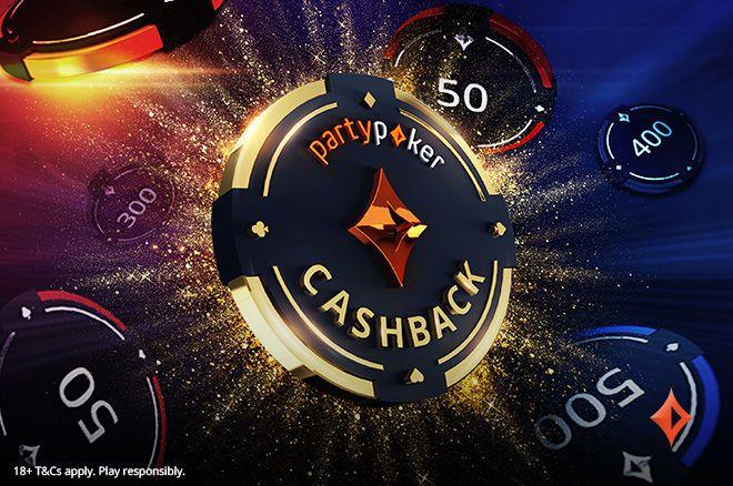 Odbierz do 40% Cashbacku Każdego Tygodnia na partypoker