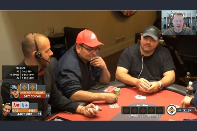 Jonathan Little's Weekly Poker Hand: Attempting a Limp-Reraise With Aces