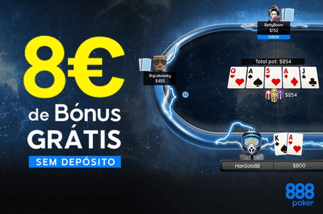 888poker Portugal - €8 Grátis