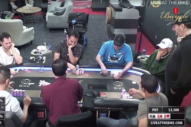 Phil Hellmuth and Mike Matusow