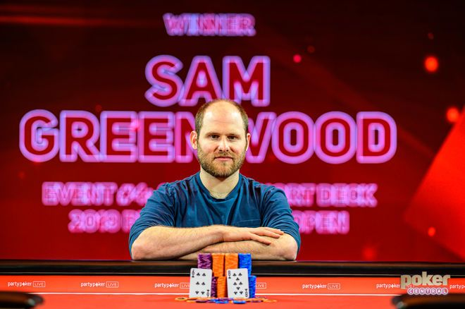 Sam Greenwood won the Short Deck event at the British Poker Open.