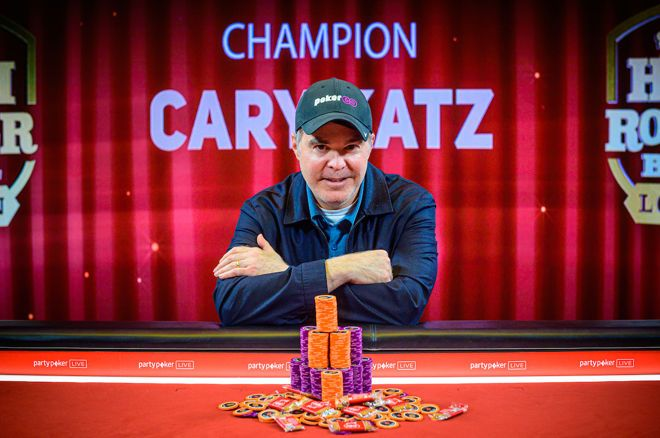 Cary Katz stole the show at the first-ever Super High Roller Bowl London.