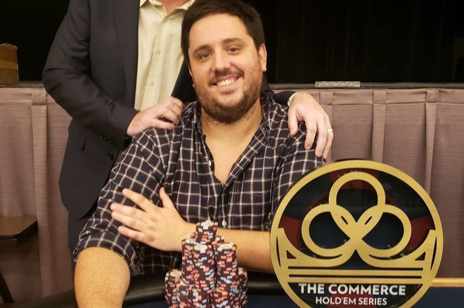 David Tuthill had his first big cash in several years, chopping the Commerce Main Event.