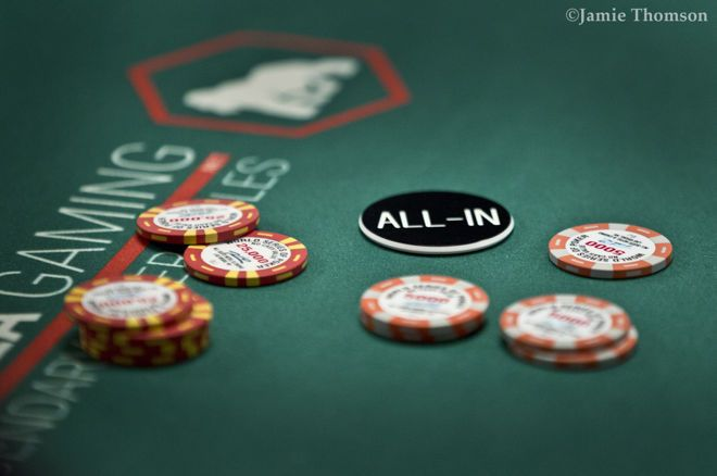 Call o Fold: Affrontare un All-in in Bolla