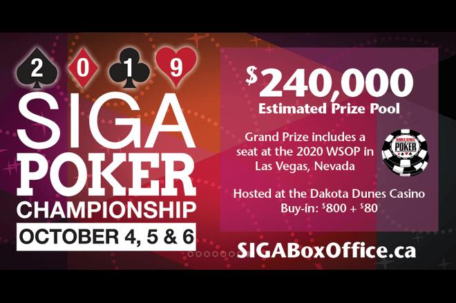 2019 SIGA Poker Championship