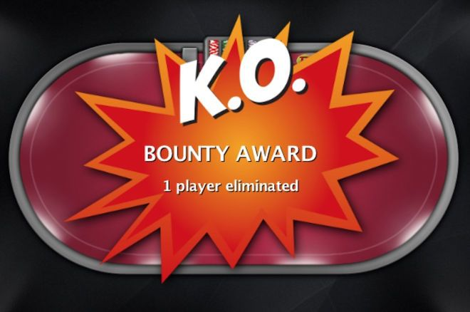 Keeping a Bounty in Play in a Progressive Knockout Tournament