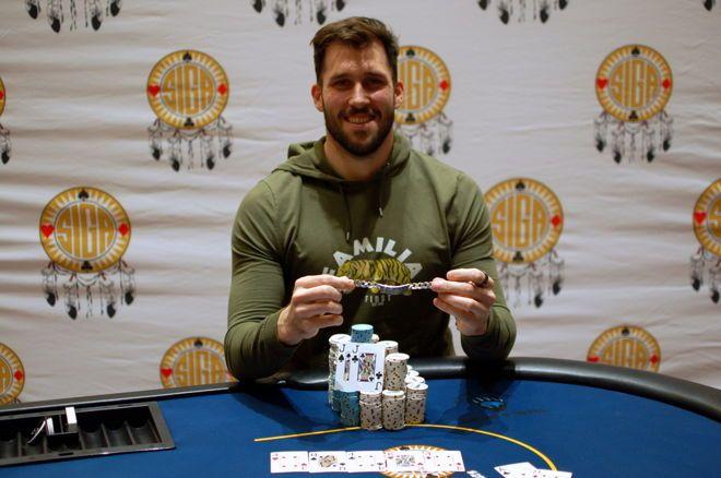 2019 SIGA Poker Champion John Hashem