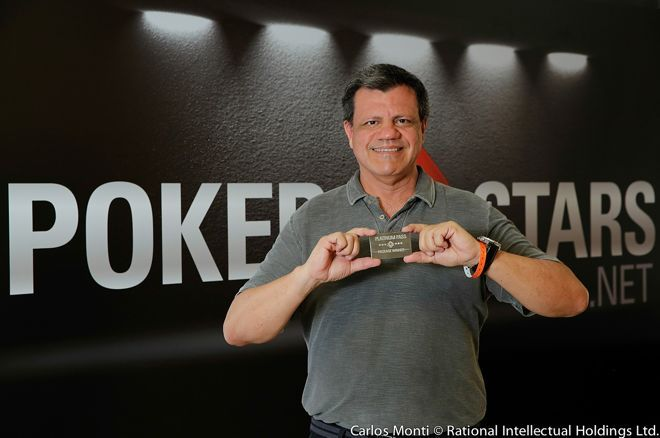 Paulo Milani is the first poker player to win two Platinum Passes.
