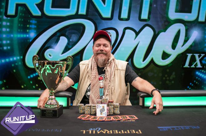Vandweller John Gribben Wins Run It Up Reno Mini Main Event for $30,000