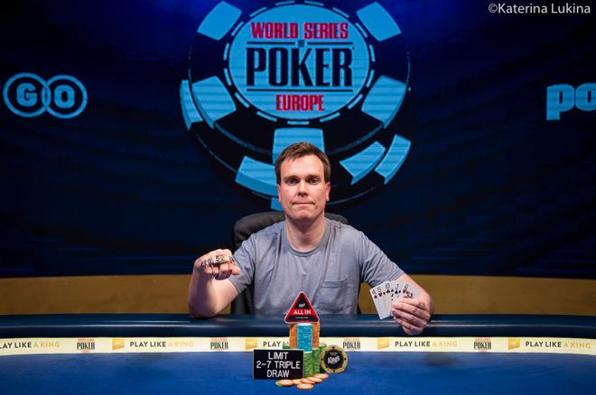 Espen Sandvik helped relegate Phil Hellmuth to a third-place finish.