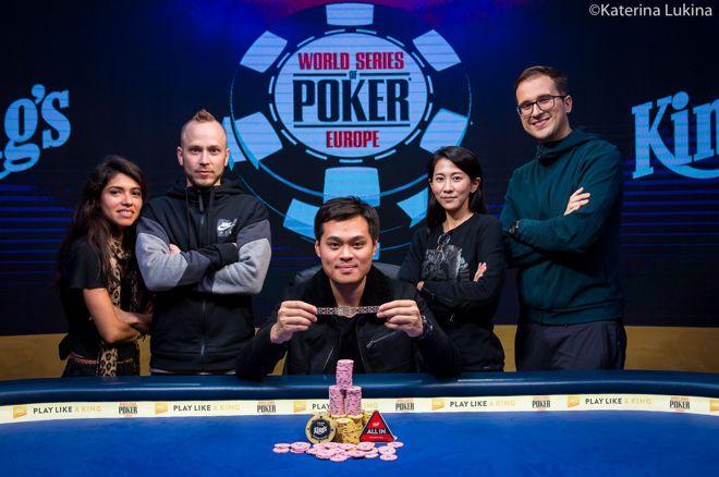 2019 WSOP Europe - James Chen wint €250k SHR voor €2,8 miljoen, Nederlanders verder in Mini Main Event