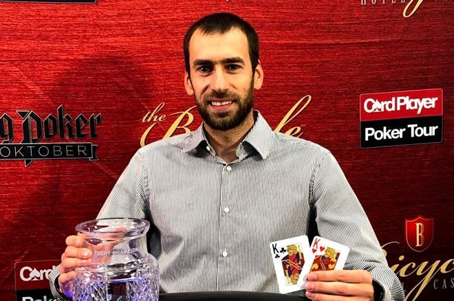 Vyacheslav Stoyanov made a deal with Klodnicki and both won over $100K.