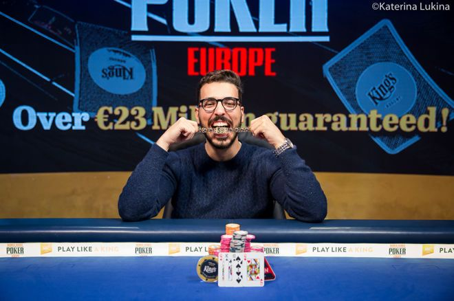 Tomas Ribeiro Wins Fifth Bracelet for Portugal in WSOPE €2,200 Pot-Limit Omaha
