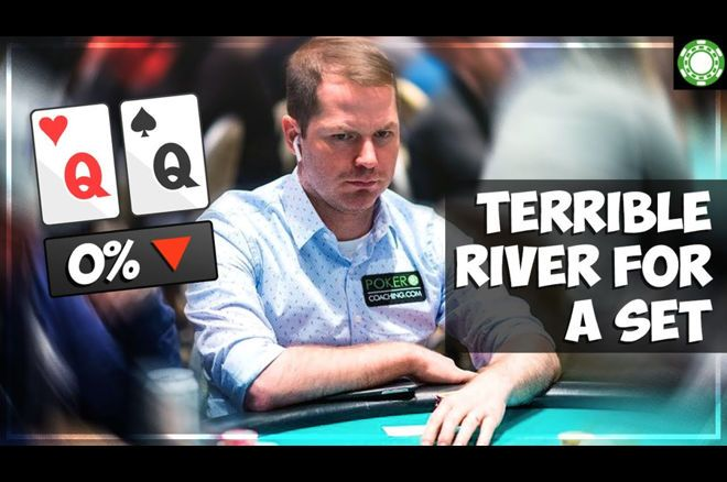 Hand Analysis: Terrible River for a Set