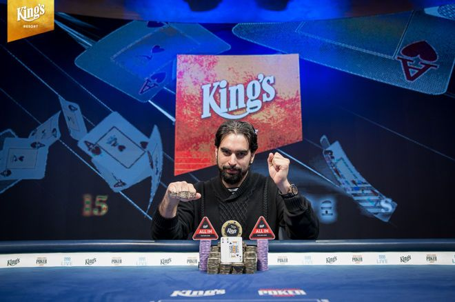Alexandros Kolonias Wins the 2019 World Series of Poker Europe Main Event (€1,133,678)
