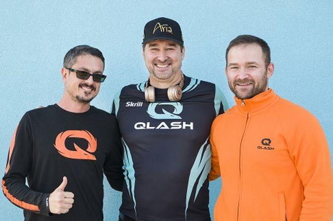 Phil Hellmuth, Eugene Katchalolv e Luca Pagano
