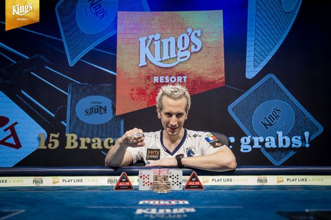 "Bertrand ""ElkY"" Grospellier Wins Second Bracelet in Event #15 Colossus (€190,375)"
