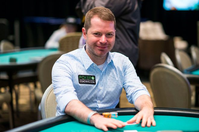 Jonathan Little at the 2019 WPT Borgata Poker Open (courtesy WPT)