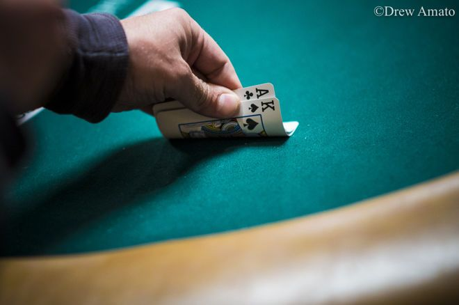 Jonathan Little's Weekly Poker Hand: Playing Ace-King Cautiously