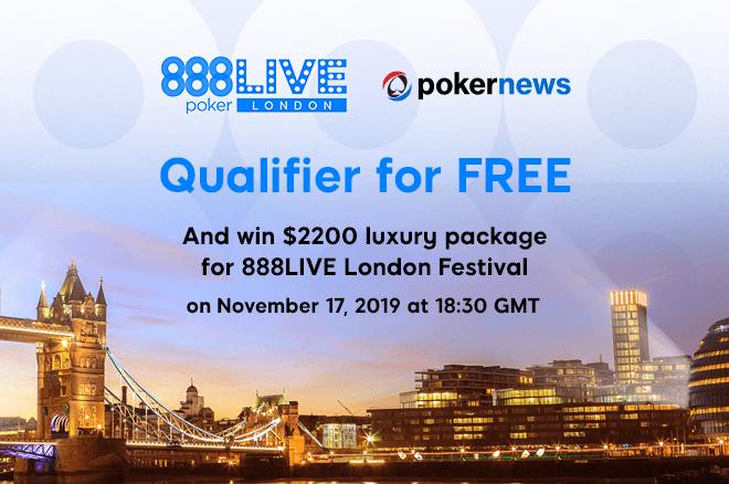888poker LIVE London Freeroll at PokerNews