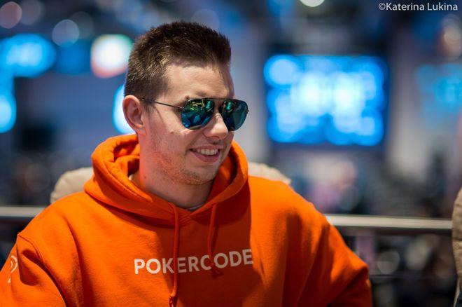 Matthias Eibinger is repping his new Pokercode training program.