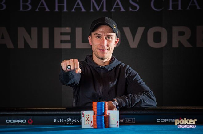 Daniel Dvoress won his biggest poker prize in the Super High Roller Bowl.